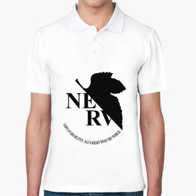 Рубашка поло Neon Genesis Evangelion NERV