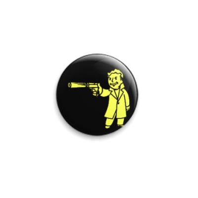 Значок 25мм  Fallout 'Киллер'