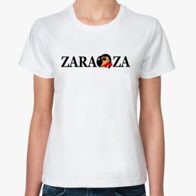Классическая футболка zaraza