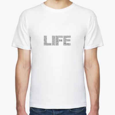 Футболка LIFE