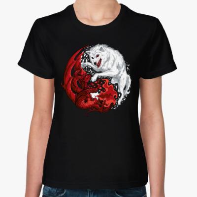 Женская футболка Песнь Льда и Огня