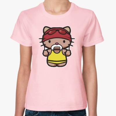 Женская футболка Китти Халк Хоган