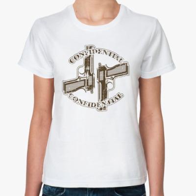 Классическая футболка  Два пистолета