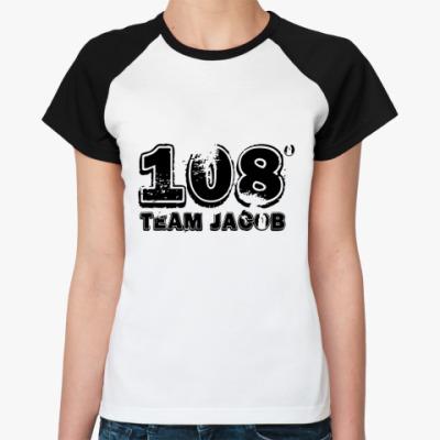 Женская футболка реглан 108