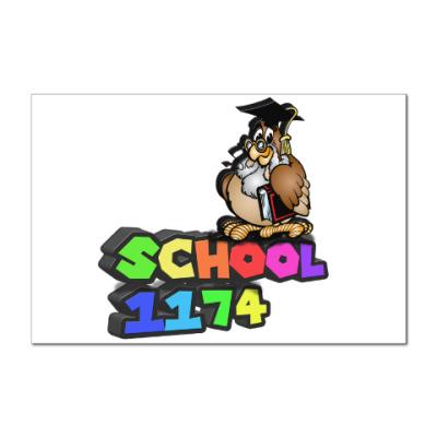 Наклейка (стикер) Символика школы 1174