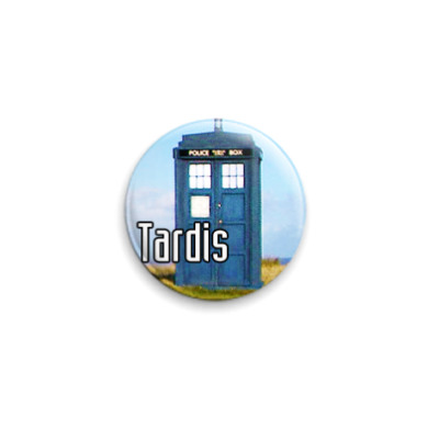 Значок 25мм  Tardis (WHO31)