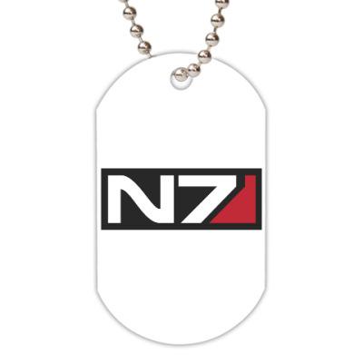 Жетон dog-tag Код Альянс из игры 'Mass Effect'