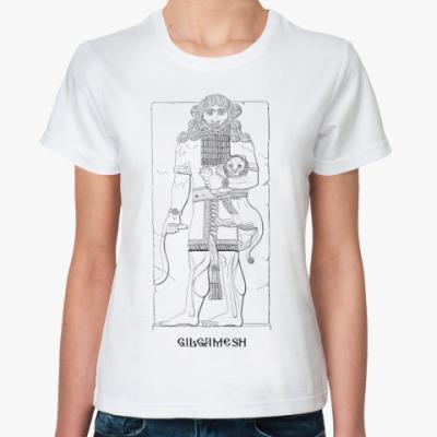 Классическая футболка  -  Гильгамеш
