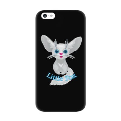 Чехол для iPhone 5c Милая лиса рисунок