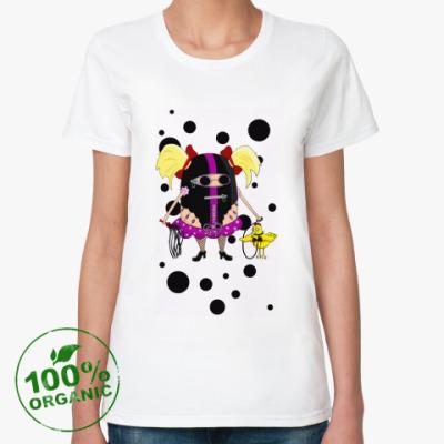 Женская футболка из органик-хлопка БДСМ - не грех