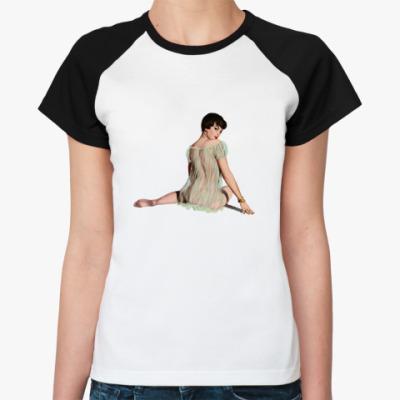 Женская футболка реглан Пенни