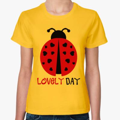 Женская футболка Прекрасный день