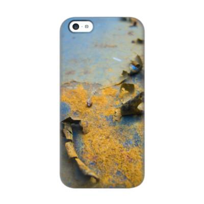 Чехол для iPhone 5c Rusty Surface