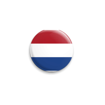 Значок 25мм  Нидерланды ()