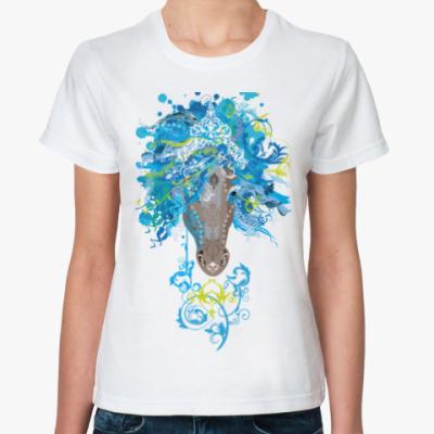 Классическая футболка Freestyle Horse