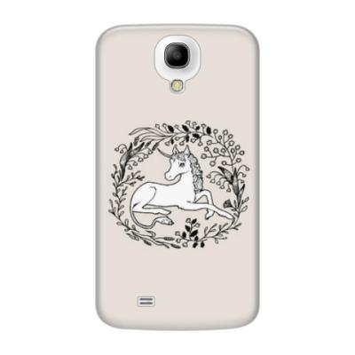 Чехол для Samsung Galaxy S4 Единорог