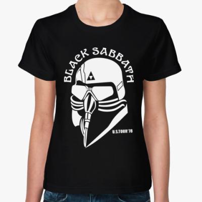 Женская футболка  Black Sabbath