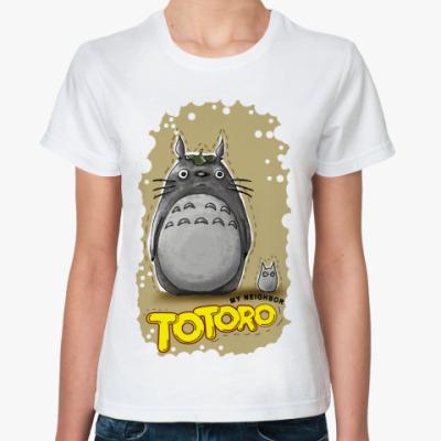 Классическая футболка Тоторо 1.1