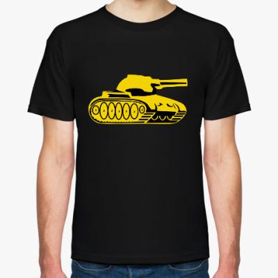 Футболка Футболка с эмблемой Танковых Войск