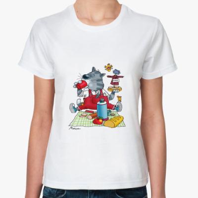 Классическая футболка Завтрак
