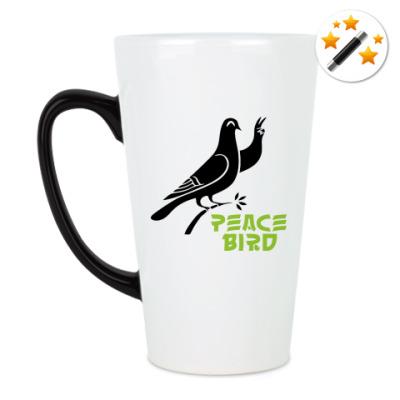 Кружка-хамелеон Peace Bird