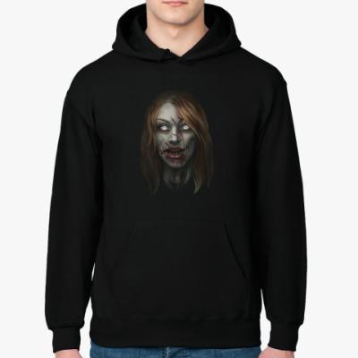 Толстовка худи Зомби-девушка