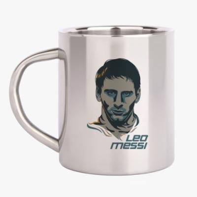 Кружка металлическая Leo Messi
