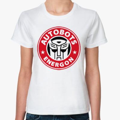 Классическая футболка Автоботы (Трансформеры)