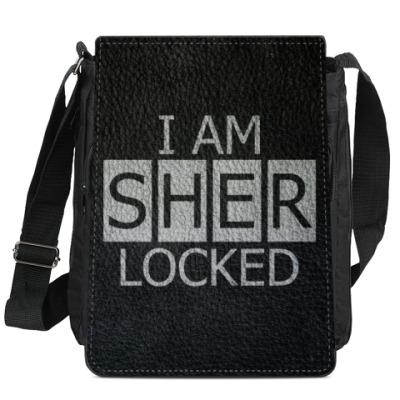 Сумка-планшет Шерлок BBC