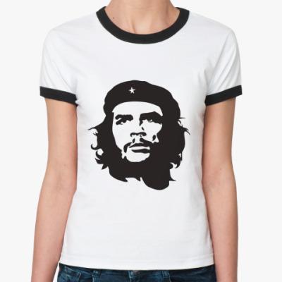 Женская футболка Ringer-T   Че Гевара