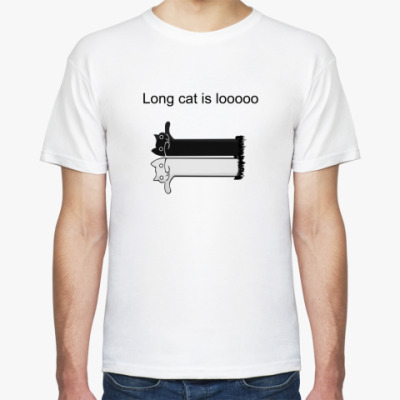 Long cat is looooong!