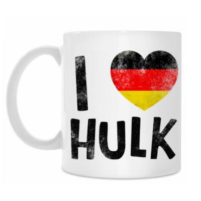 Кружка I LOVE HULK