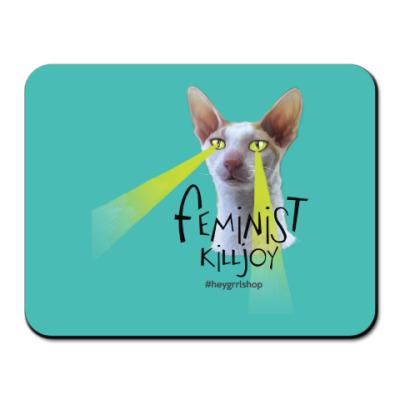 Коврик для мыши Feminist Killjoy коврик