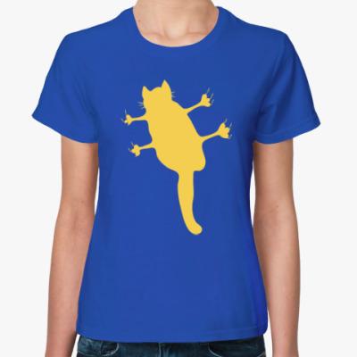 Женская футболка Не пущу!