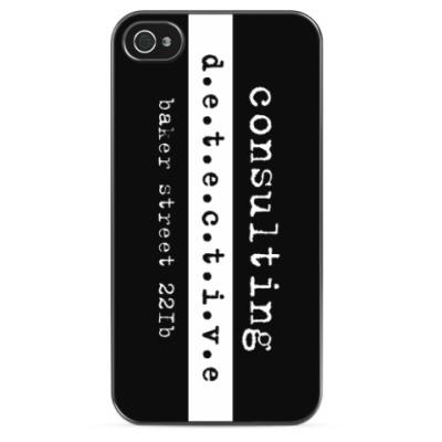 Чехол для iPhone Consulting Detective
