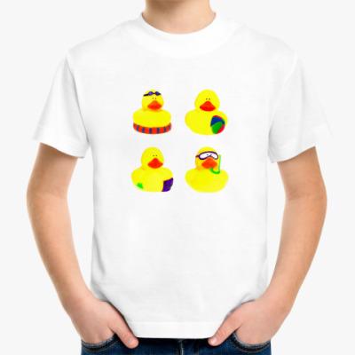 Детская футболка  пляж