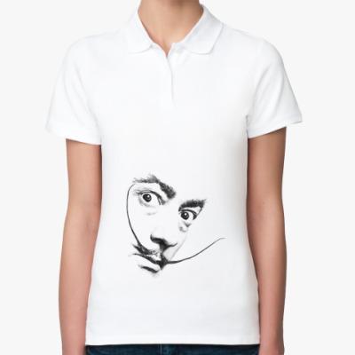 Женская рубашка поло Усы
