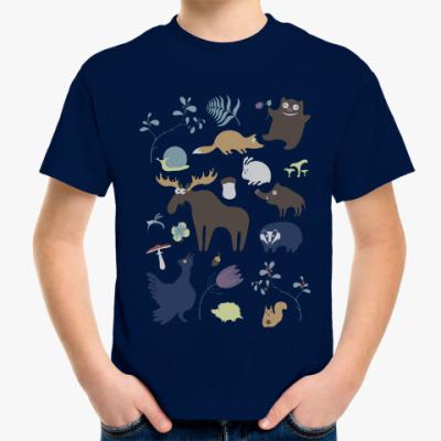 Детская футболка Лесная жизнь