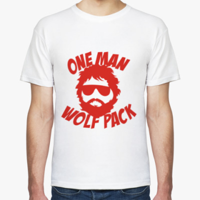 Футболка Wolfpack. Человек-волчья стая.