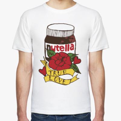 Футболка Nutella Нутелла Шоколад