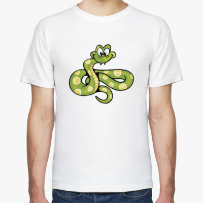 Футболка Змея