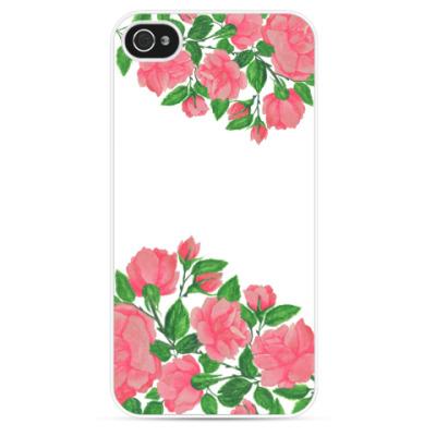 Чехол для iPhone Unique Roses