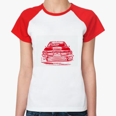 Женская футболка реглан   My Preza