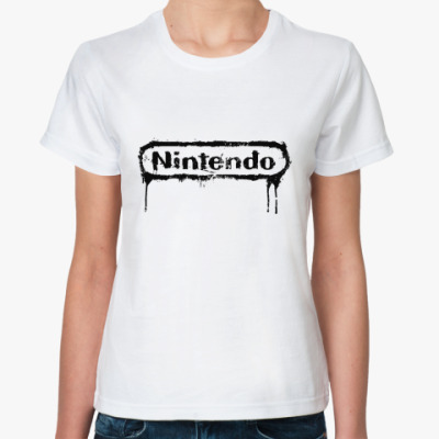 Классическая футболка Nintendo Logo