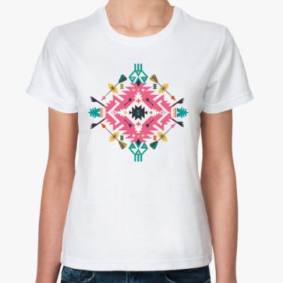 Классическая футболка Орнамент