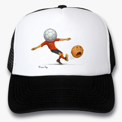 Кепка-тракер Тыква Футбол soccer