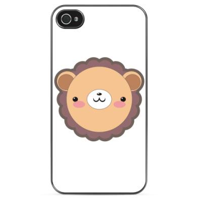 Чехол для iPhone Кавайный лев