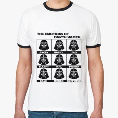 Футболка Ringer-T Star Wars Darth Vader Emotions