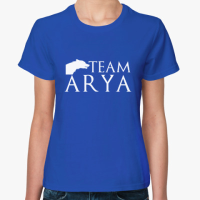 Женская футболка Команда Арии