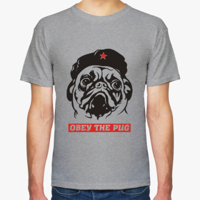 Футболка Obey the doggy
